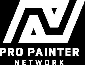 Pro Painter Network Logo white